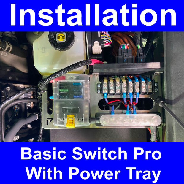 Switch Pro Install on Power Tray Labor Only