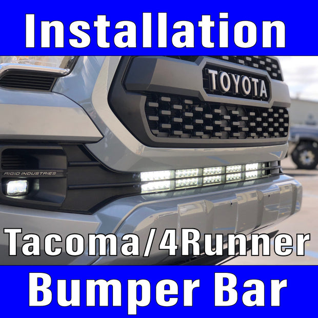 Lower Bumper Light,Bracket, harness & switch Labor Only Tacoma,4Runner