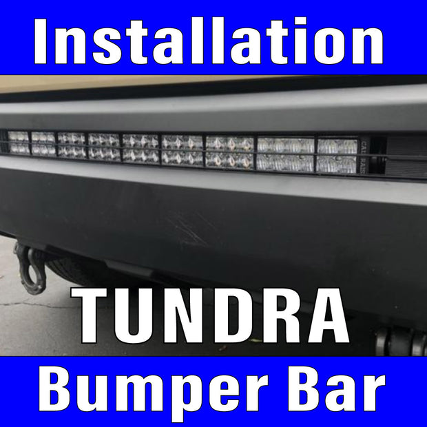 Lower Bumper Light,Bracket, harness & switch Labor Only Toyota Tundra