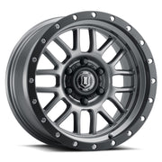 "ICON ALLOYS ALPHA TITANIUM - 17 X 8.5 / 5 X 5 / 0MM / 4.75"" BS - 1217857347TT"