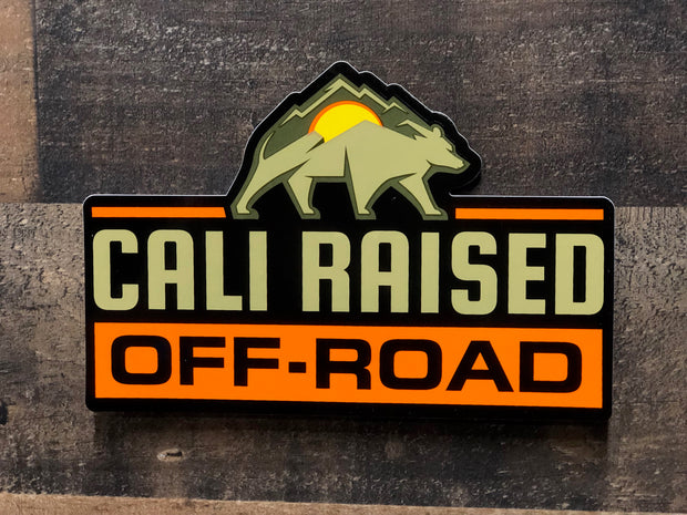 Cali Raised Offroad Decal - Sticker