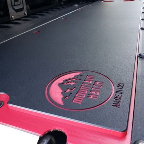 Black & Red Color Core Mountain Hatch for (2005-2020) Toyota Tacoma