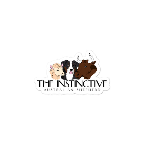 The Instinctive Aussie Sticker