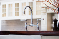 Chrome Bridge Sink Mixer