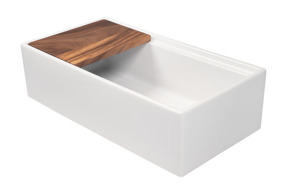 Butler Kitchen Sink System 914 mm - Complete With Chopping/Preparation Block