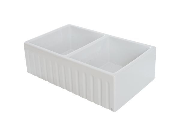 Double Fluted Apron Sink - 833 x 500 x 250mm