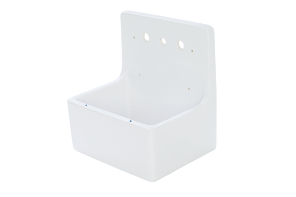 Scullery Tub - 510 x 390 x 490mm With Tap Holes