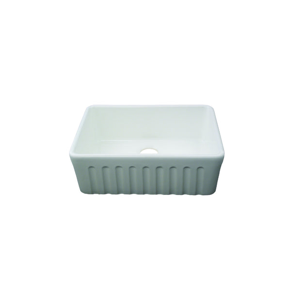 Fluted Butler Sink - 595 x 475 x 250mm