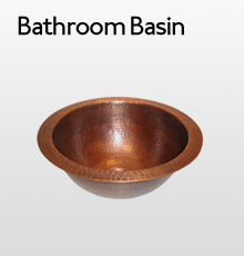 Copper Bathroom Basin