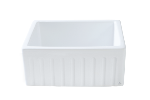 Fluted Butler Sink - 595 x 480 x 220mm