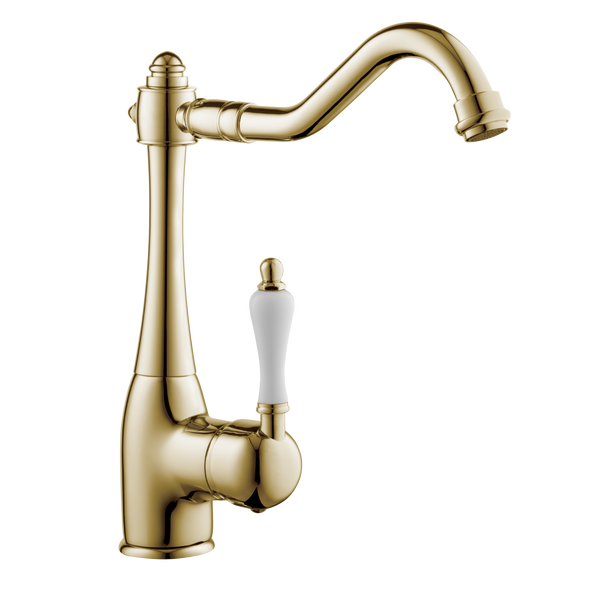 Traditional Kitchen Tap - Metal Lever