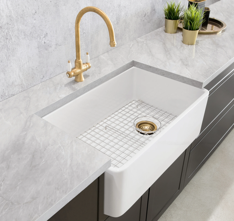 Birthday Special Event ! $845.00 - Mayfair Butler Sink - With Free Grid !