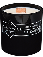 Black Amber Soy Candle