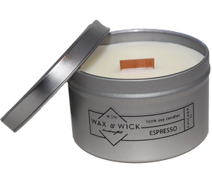 small espresso soy candle