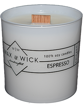 Espresso Scented Soy Candle