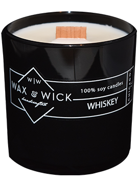 whiskey woodwick candle