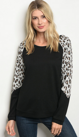 """Cheetah with a Passion"" Top"
