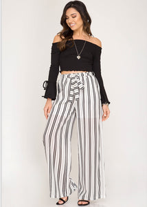 Black & White Pants