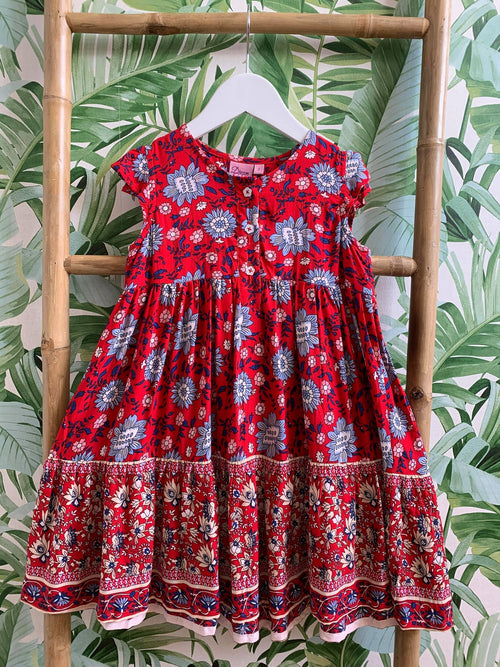 DREAMCATCHER PICNIC IN THE GARDEN DRESS - FLEUR DELACOUR