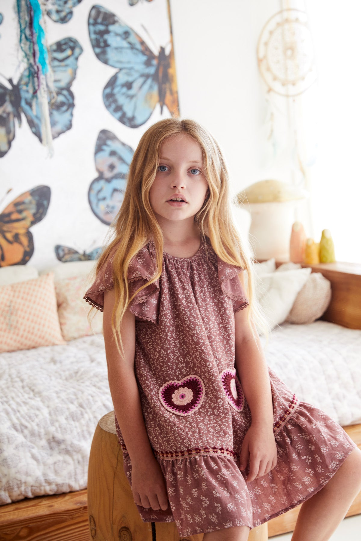 LEILA THE LABEL BY JAASE - GRACE DRESS - FLEETWOOD PRINT