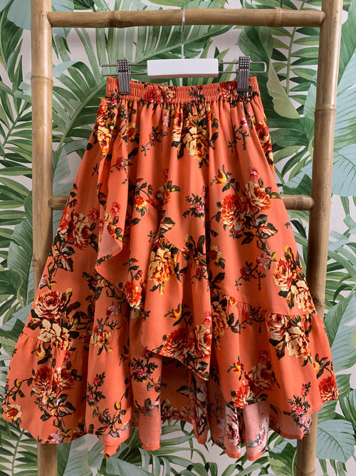 DREAMCATCHER UNDER THE RAINBOW SKIRT - SUMMER PEACH