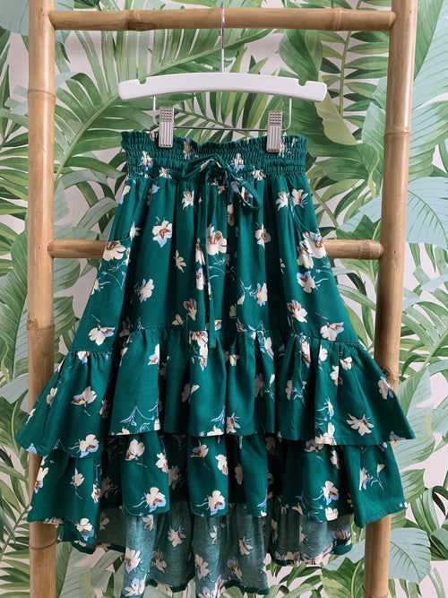 DREAMCATCHER LUCID DREAMS SKIRT - DANDELION GREEN