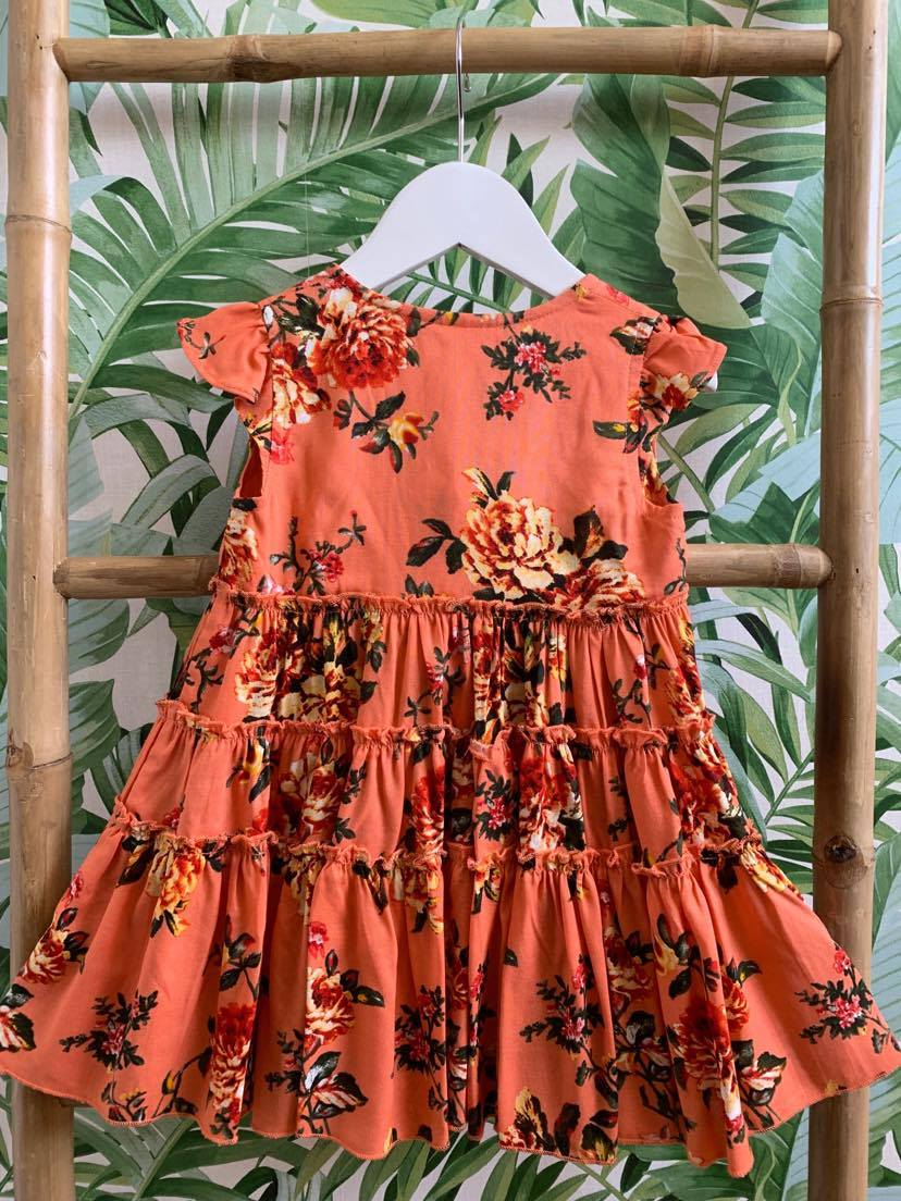 DREAMCATCHER GARDEN PARTY DRESS (SUMMER PEACH)