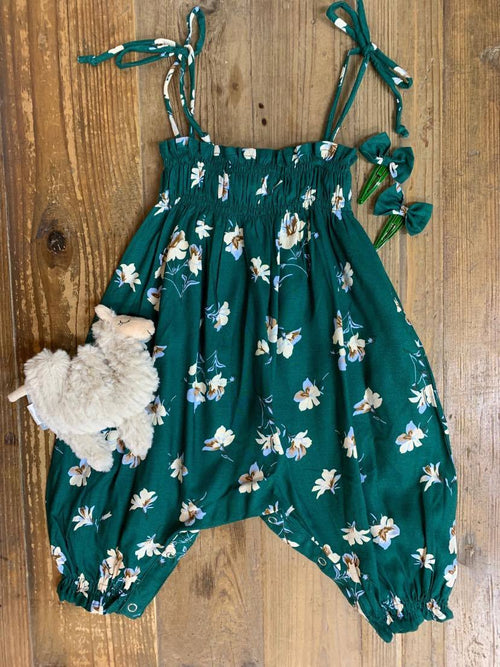 DREAMCATCHER SORRENTO ROMPER (DANDELION GREEN)