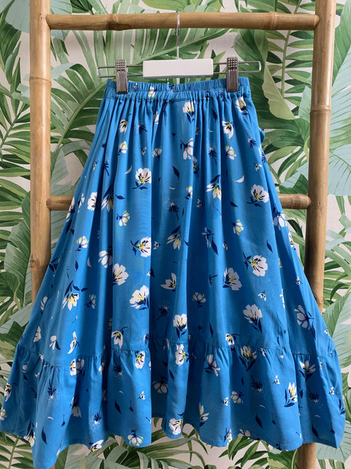 DREAMCATCHER UNDER THE RAINBOW SKIRT - DANDELION BLUE