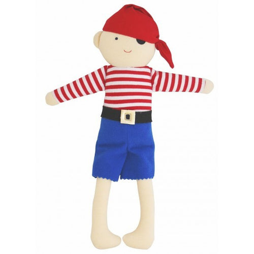PIRATE  DOLL RATTLE (31CM)