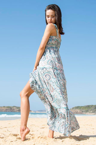 WANDERLUST FLEETWOOD DREAMING DRESS - SWEET LOVE PRINT