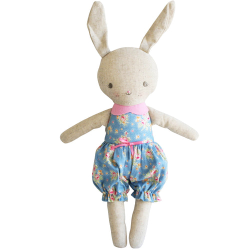 ALIMROSE ROSIE ROMPER BUNNY BLOSSOM BLUE PINK (30CM)