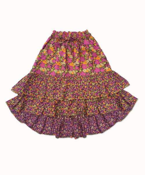 DREAMCATCHER LUCID DREAMS SKIRT - LAVENDER FEILDS