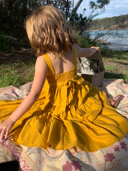 DREAMCATCHER FESTIVAL PARTY DRESS  MELLOW YELLOW
