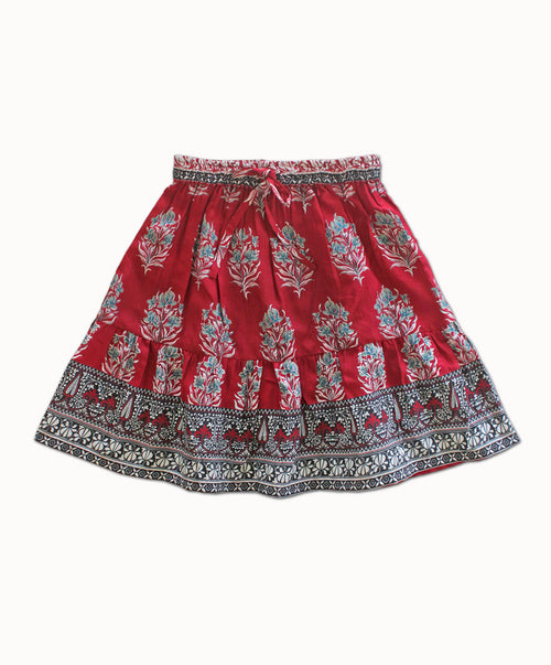 DREAMCATCHER GENEVIEVE MINI SKIRT (MAGNOLIA)