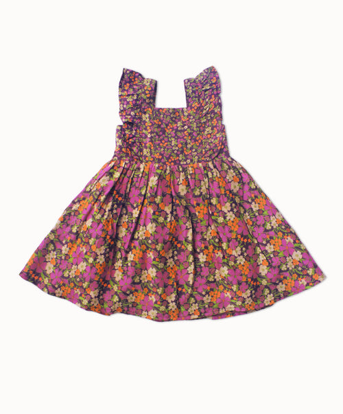 DREAMCATCHER PRINCESS DRESS - LAVENDER FIELDS PRINT