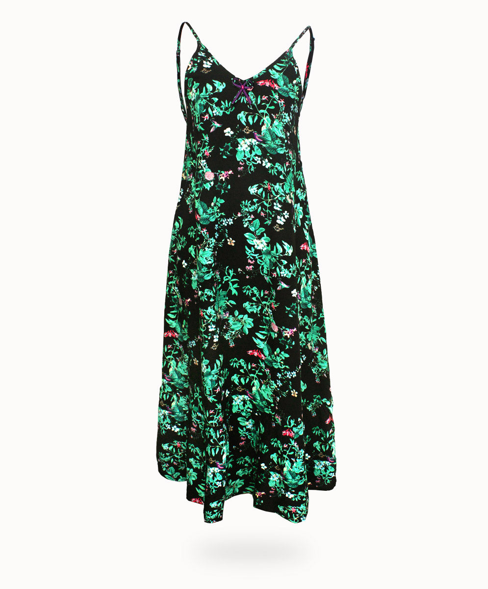 WANDERLUST NIGHTIE - HUMMINGBIRD PRINT