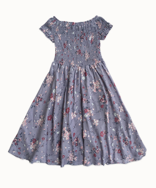 DREAMCATCHER SALSA DRESS - TWILIGHT GARDEN PRINT