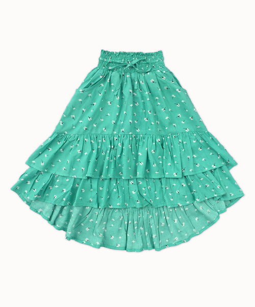 DREAMCATCHER MAIA SKIRT DAISY PRINT