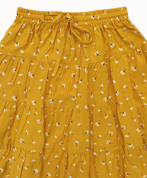DREAMCATCHER MELLOW YELLOW SKIRT