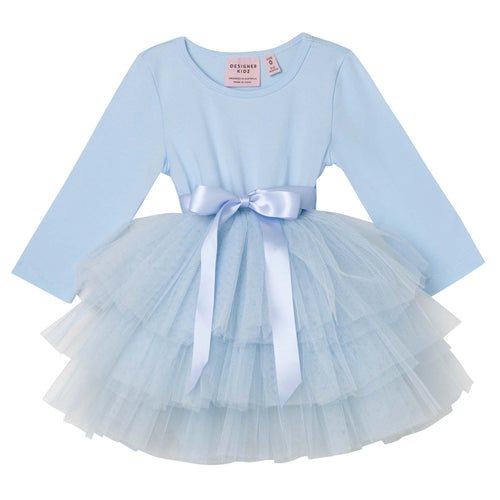Designer Kids my first tutu L/S Dusty Blue