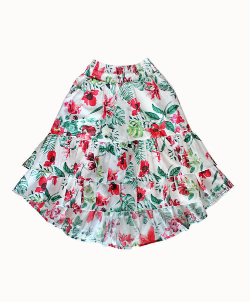 DREAMCATCHER STRAWBERRY FEILDS FOREVER SKIRT