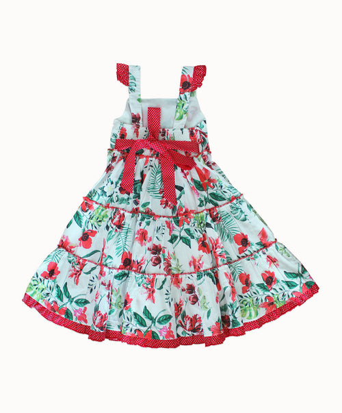 DREAMCATCHER FESTIVAL PARTY DRESS  (Strawberry fields forever print)