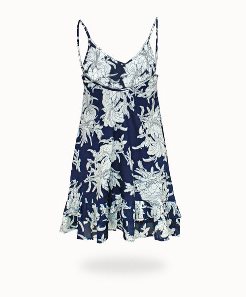WANDERLUST NIGHTIE - WATERLILY PRINT