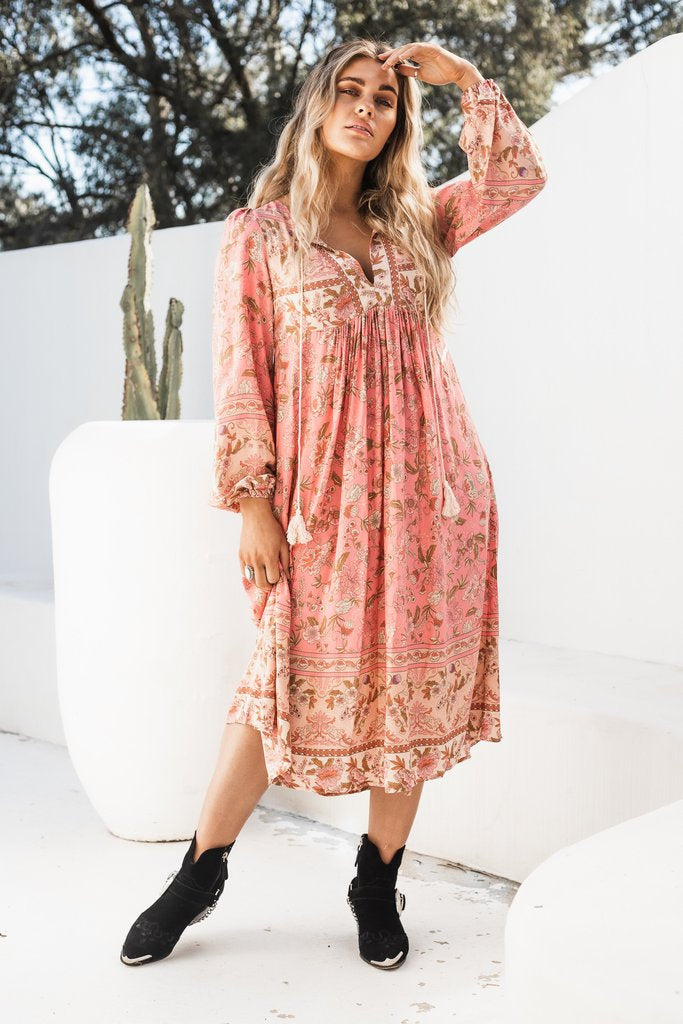 MOROCCO TUNIC DRESS - FLAMENCO