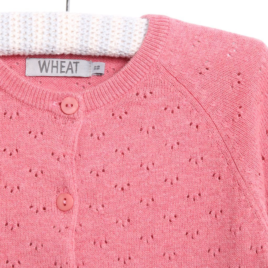 WHEAT KNIT CARDIGAN MAJA BABY