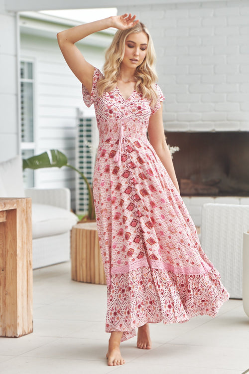 Jaase Romi Maxi Dress Azalea