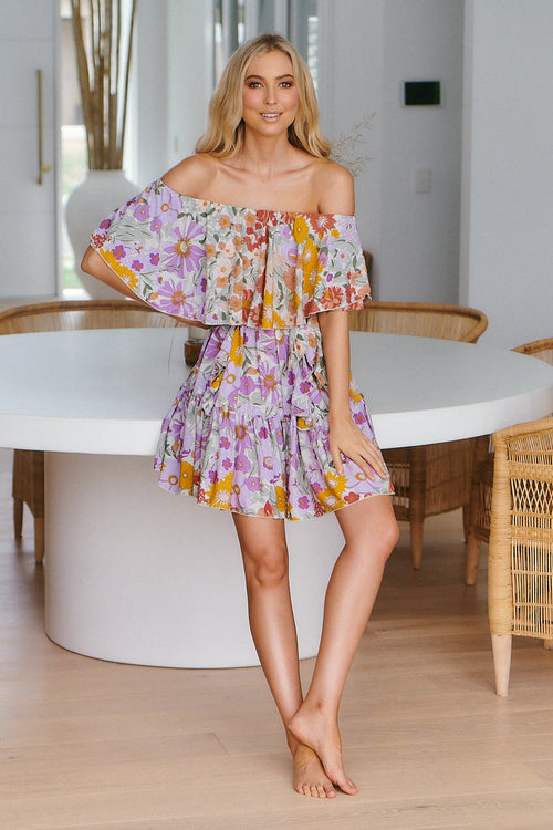Jaase Georgie Mini Dress Secret Garden