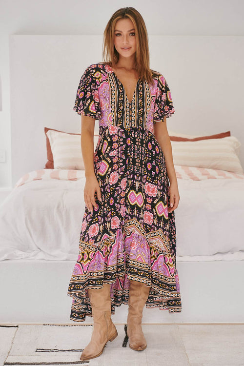 Jaase Gracie Maxi Dress Cherry Blossom
