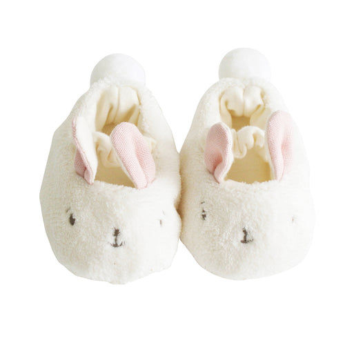 ALIMROSE SNUGGLE BUNNY SLIPPERS PINK
